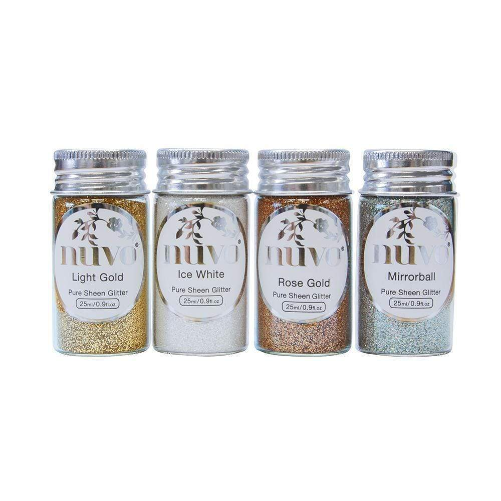 Nuvo Nuvo Glitter Nuvo - Pure Sheen 4 Pack - Golden Years Glitter - 293n