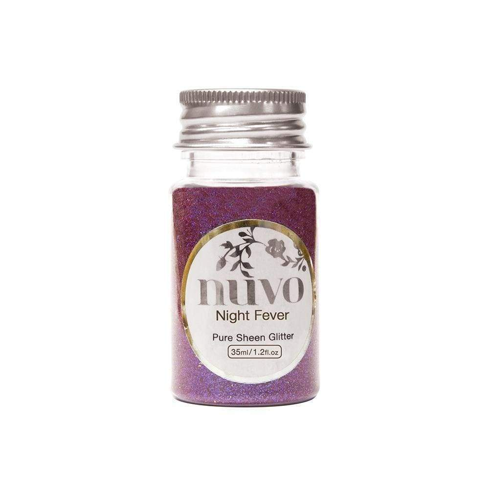 Nuvo Nuvo Glitter Nuvo - Pure Sheen Glitter - Night Fever - 35ml Bottle - 1101n