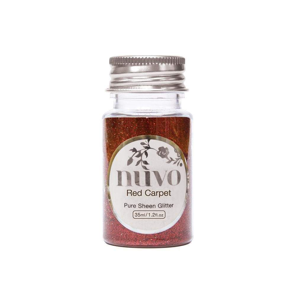 Nuvo Nuvo Glitter Nuvo - Pure Sheen Glitter - Red Carpet - 35ml Bottle - 1103n