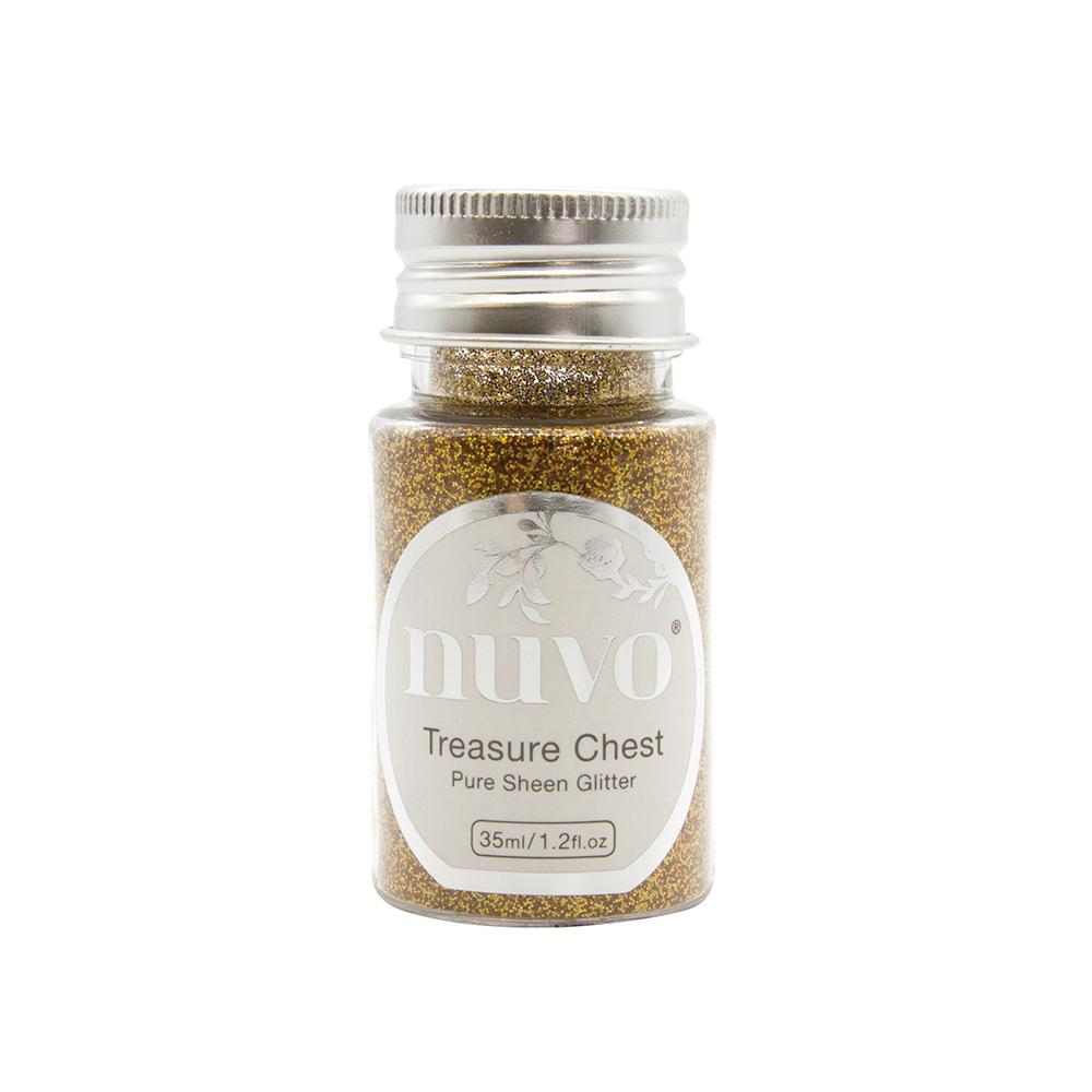 Nuvo Nuvo Glitter Nuvo - Pure Sheen Glitter - Treasure Chest 35ml - 1113N