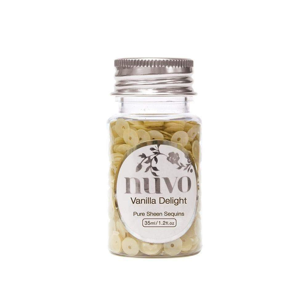 Nuvo Sequins Nuvo - Sequins - Vanilla Delight - 35ml Bottle - 1142n