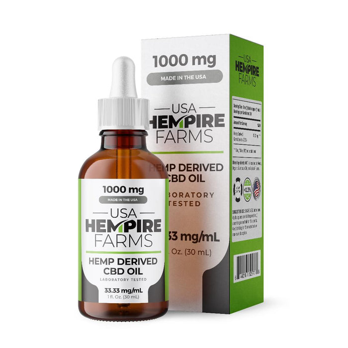 Broad Spectrum Hemp Oil - 1000MG