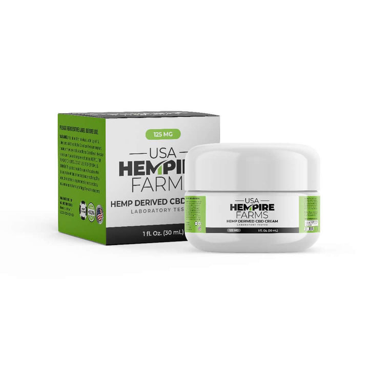 CBD Cream 1 OZ. /125 mg Cream