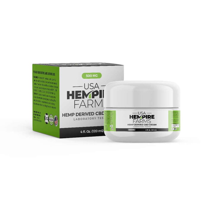 Muscle And Joint Relief Cream - 500MG / 4 oz.