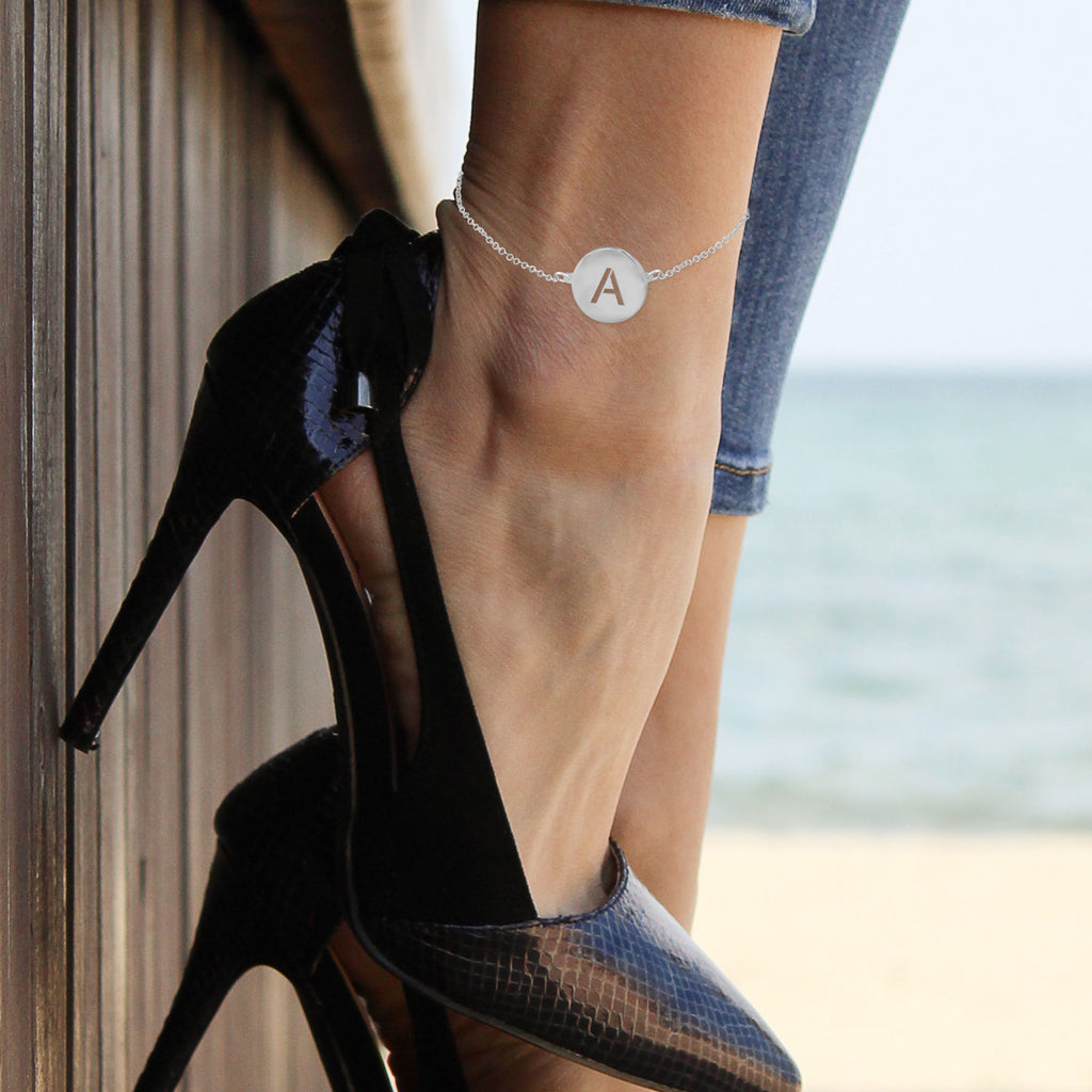 Initial Disc Anklet