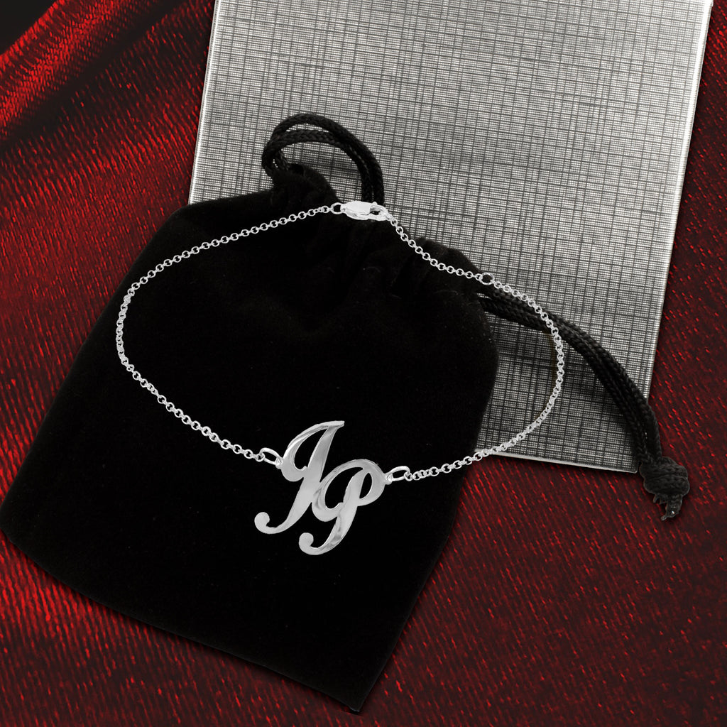 Girl Time Monogram Anklet