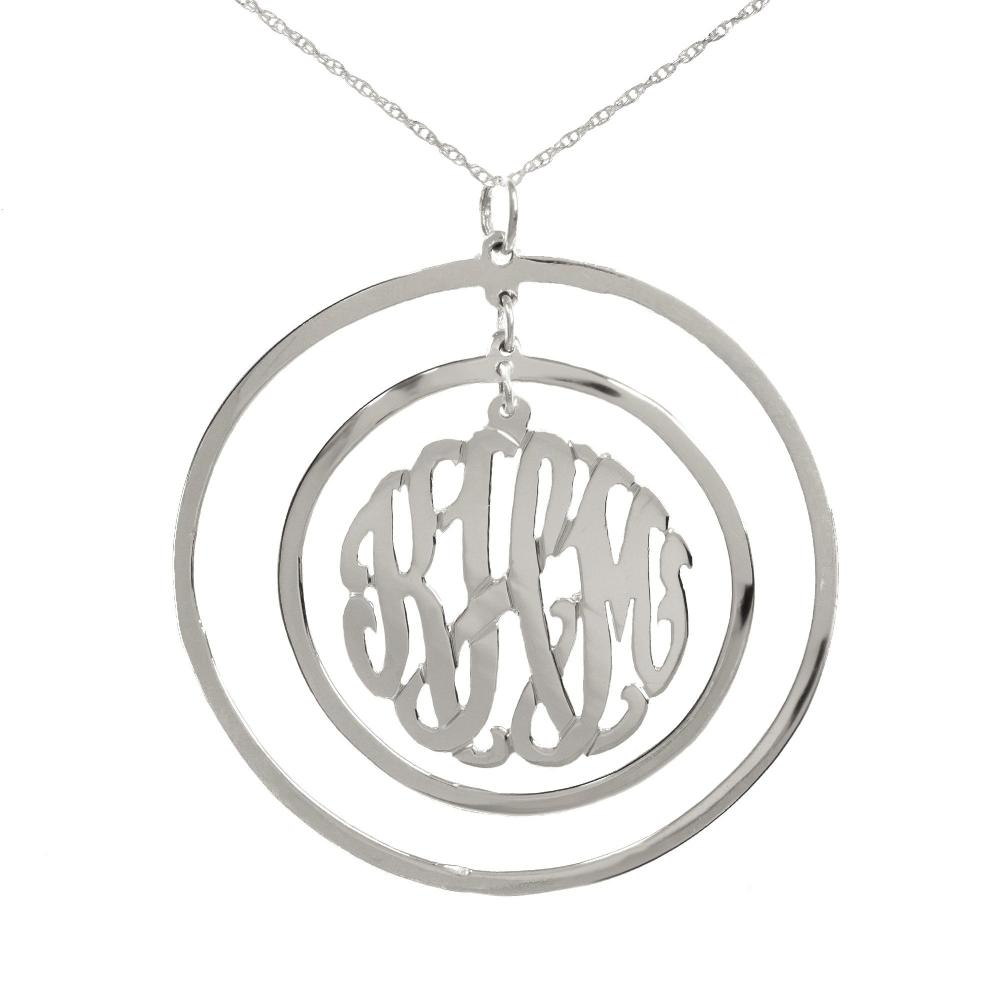 silver-Circular-Chandelier-Pendant-Monogram-Necklace