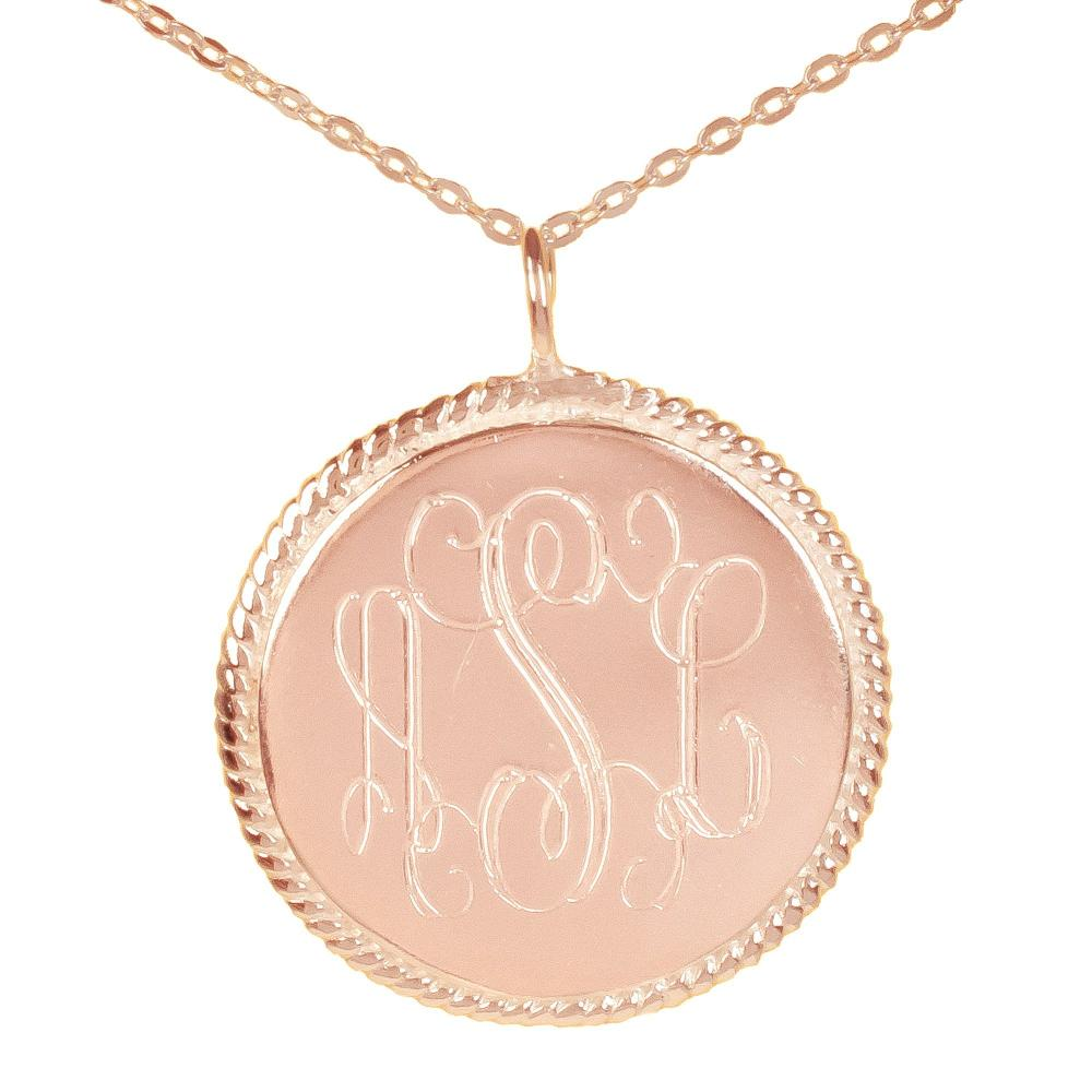 24k rose_gold plated sterling silver-rope-accent-pendant-small
