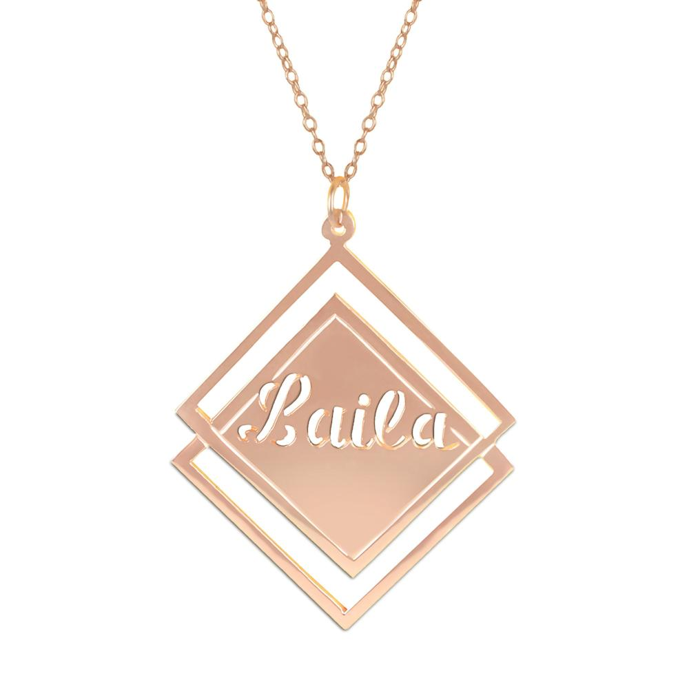 14K rose_gold plated sterling silver-social-society-full-name-necklace