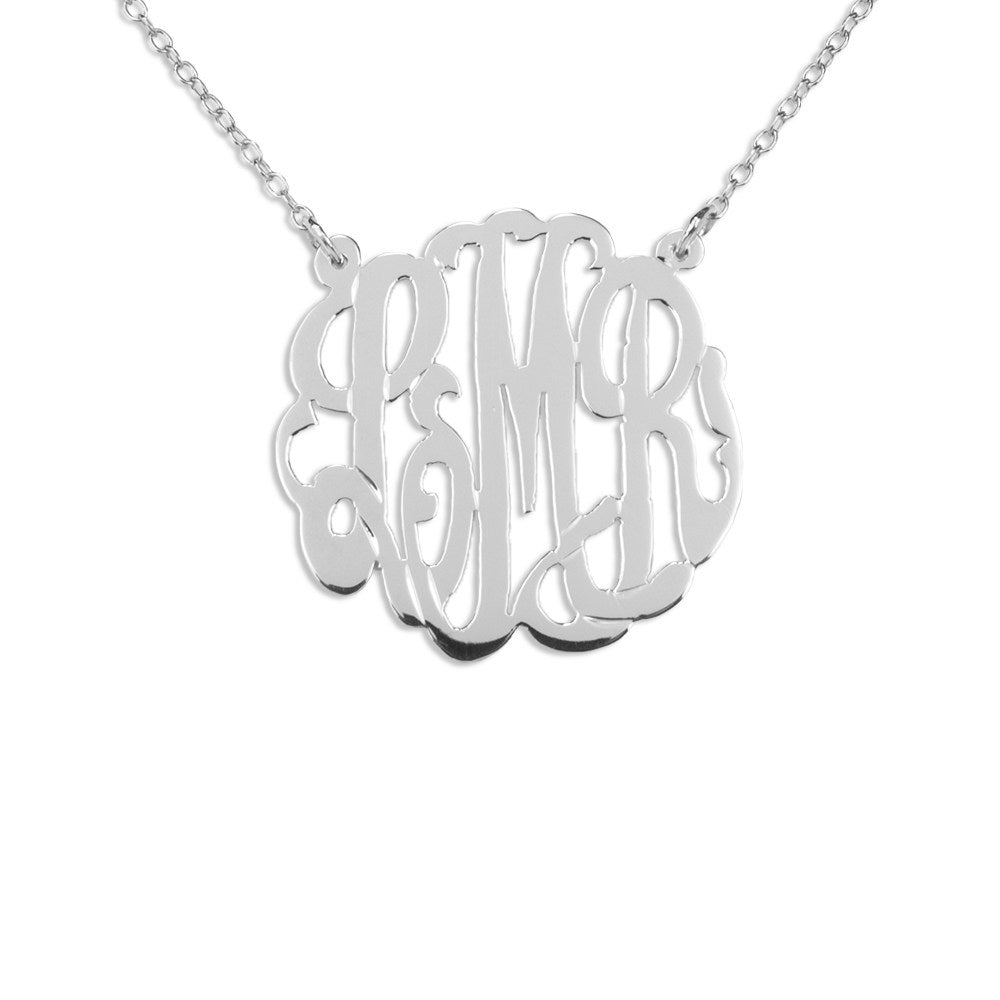 Polished Monogram Necklace