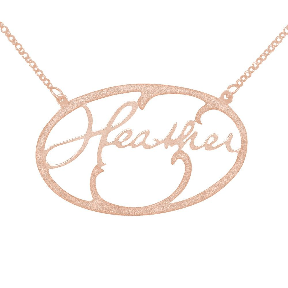 14K rose_gold plated sterling silver-handwritten-signature-hollow-name-necklace