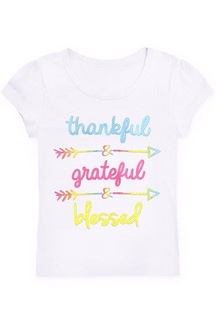 Thankful Grateful & Blessed T-shirt