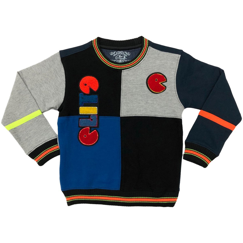 Elite- Pac-Man Sweater- Blue