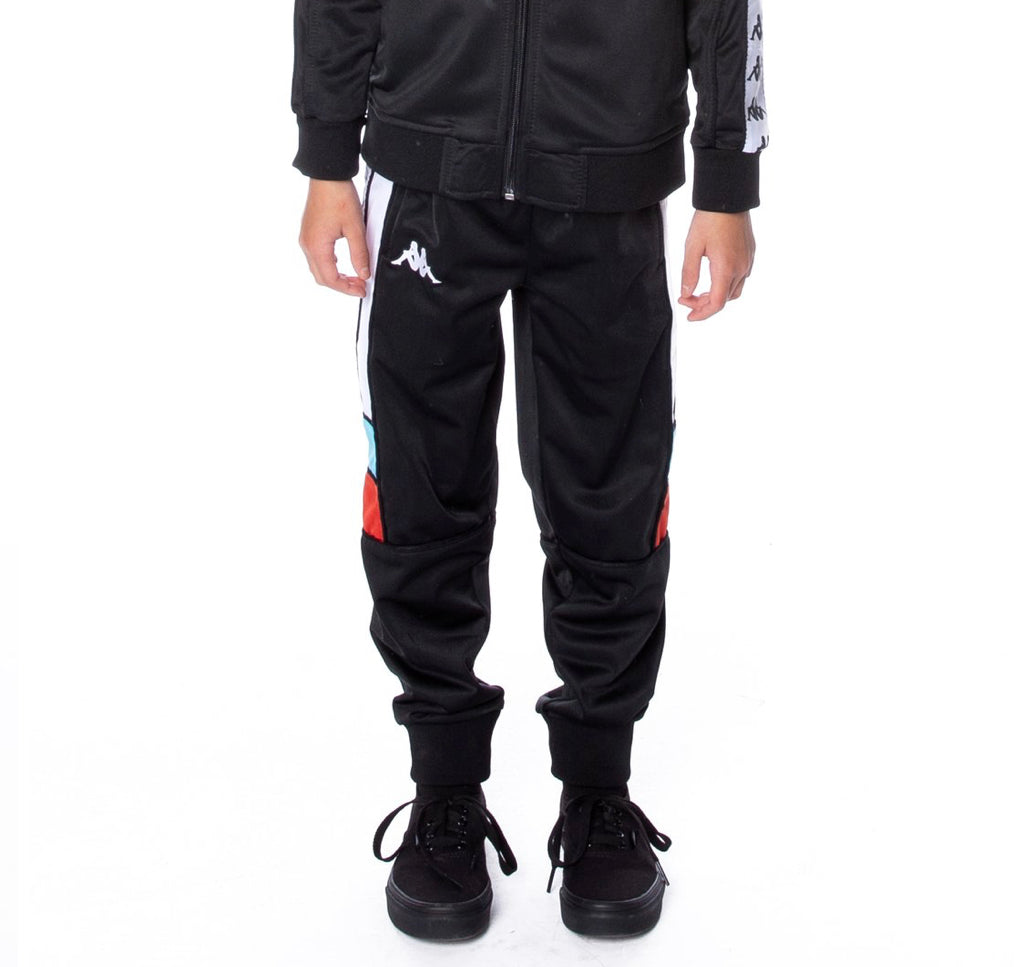Kappa 222 BANDA MEMZZ TRACKPANTS BLACK TURQ