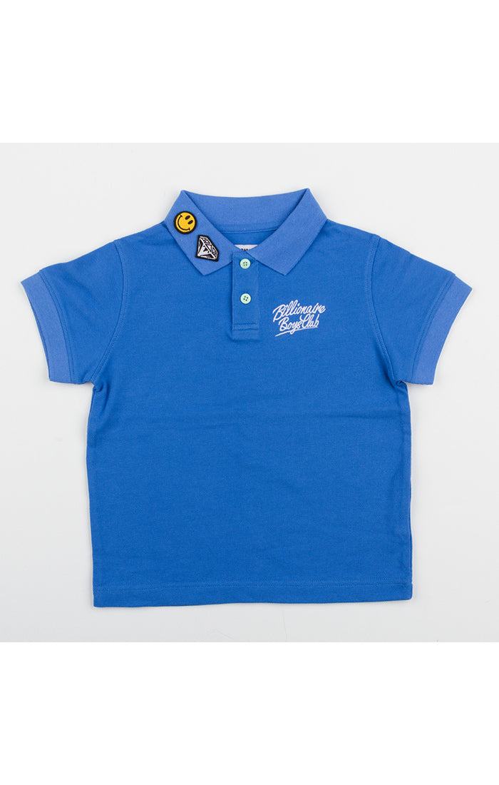 BBC Blue Polo Shirt