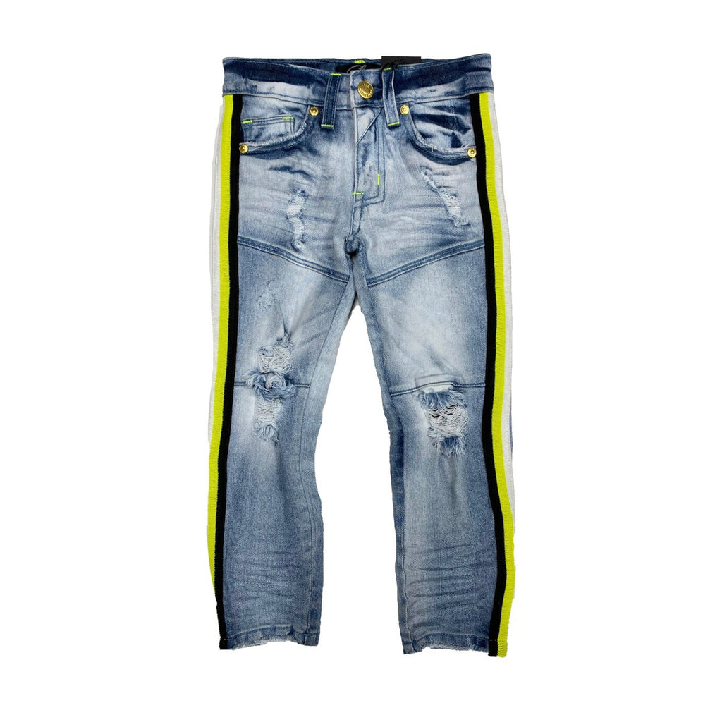 Elite- Mach Stripe Jeans