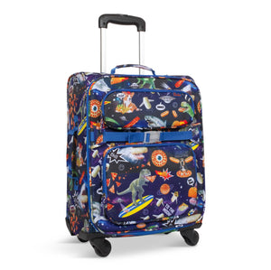 Meme Space Odyssey Blue Young Traveler Luggage