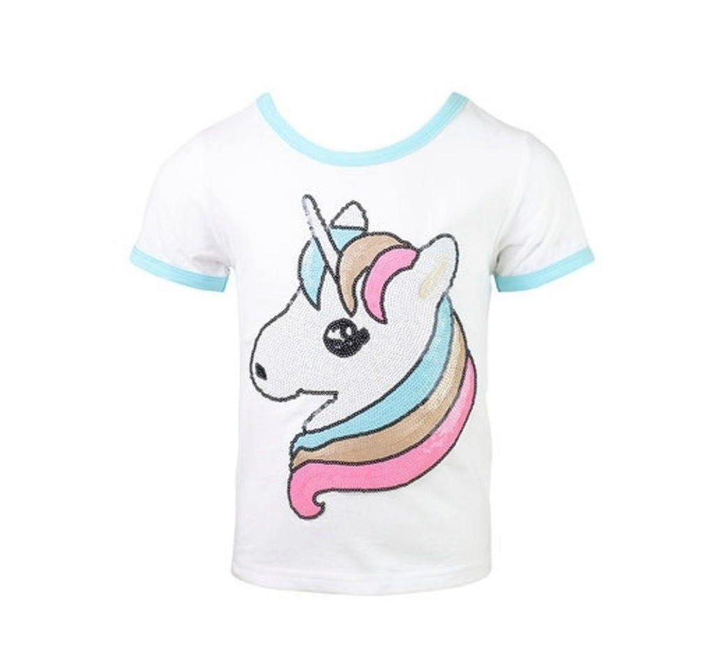 Lola and the Boys EVERYDAY UNICORN T-SHIRT