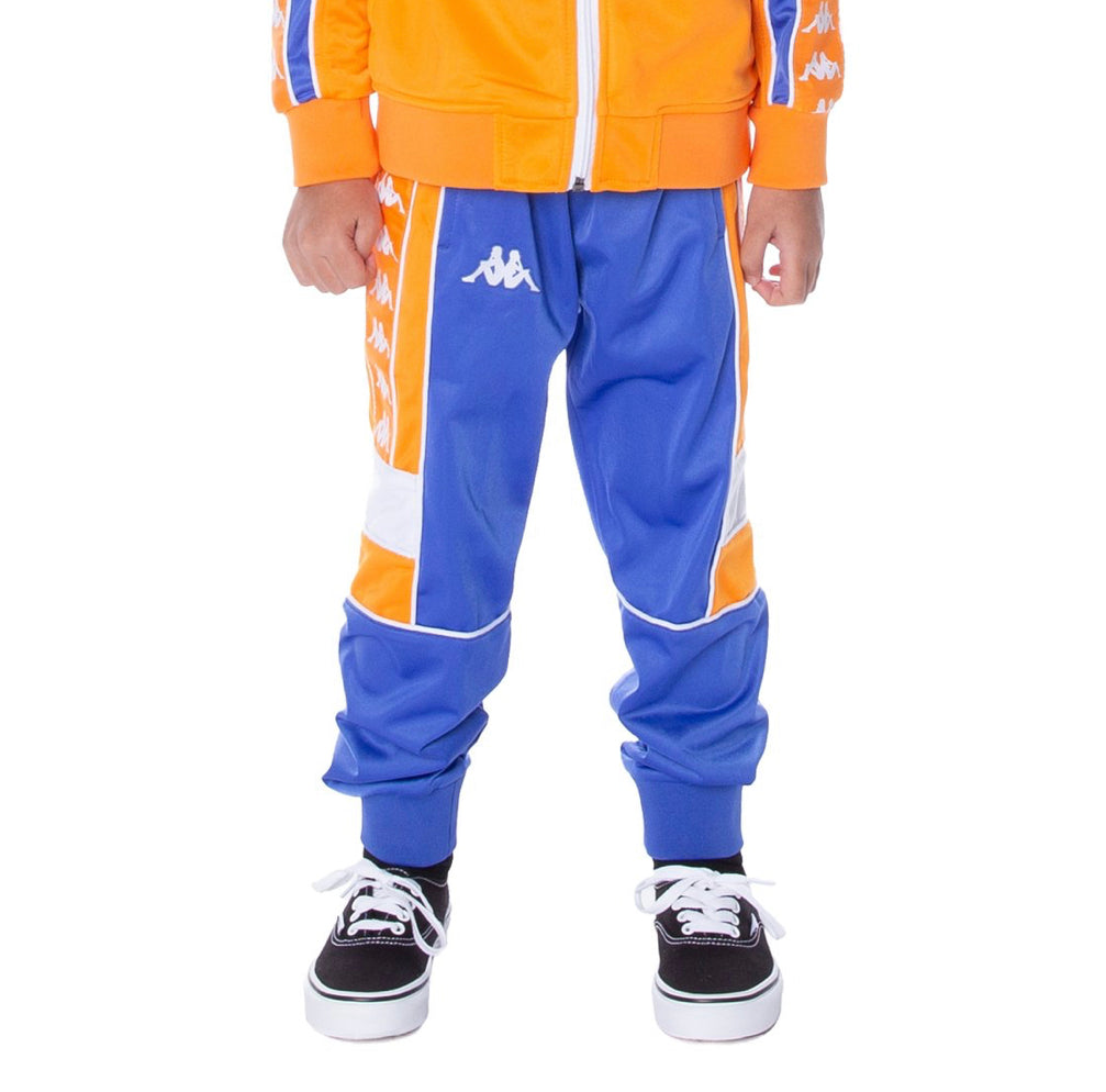 Kappa 222 BANDA MEMZZ TRACKPANTS BLUE ORANGE