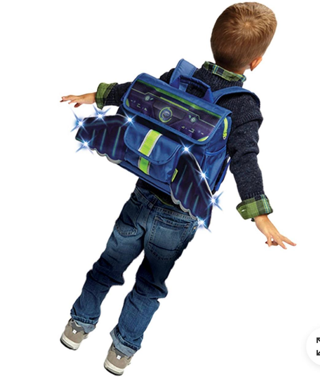 Bixbee Small LED Space Racer Backpack