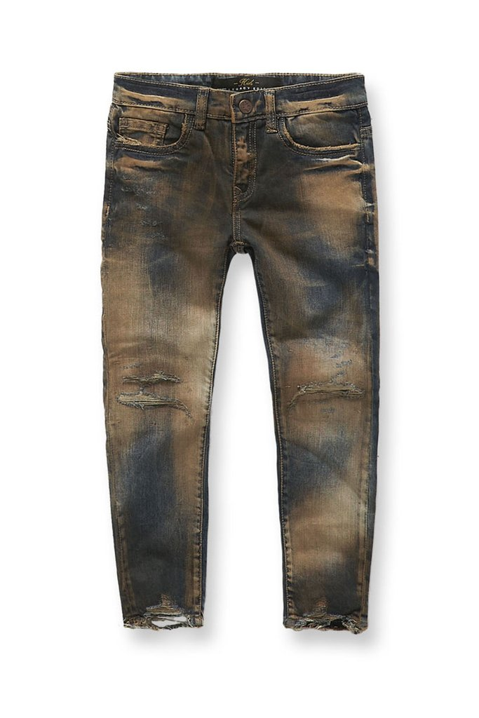 Jordan Craig- Copper Wash Denim Jeans
