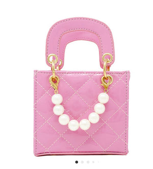 Quilted Pink Purse