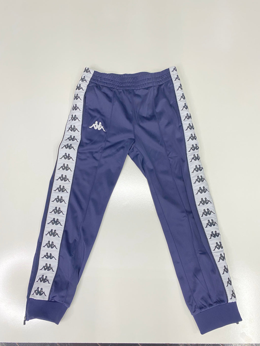 Kappa 222 Banda Anniston Navy Blue Track Pants
