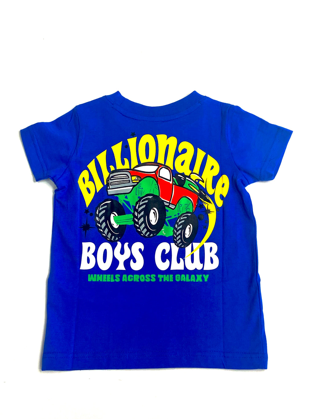 BBC Wheels SS Blue Tee