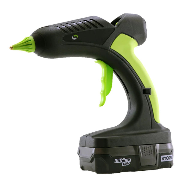 Lithium Cordless Hot Melt Glue Gun - 18V