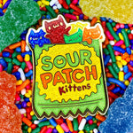Sour Patch Kittens hard enamel pin