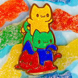 Sour Patch Stack hard enamel pin