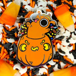Halloweenie hard enamel pin
