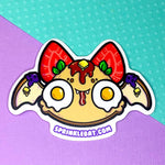 Breakfast Bat sticker