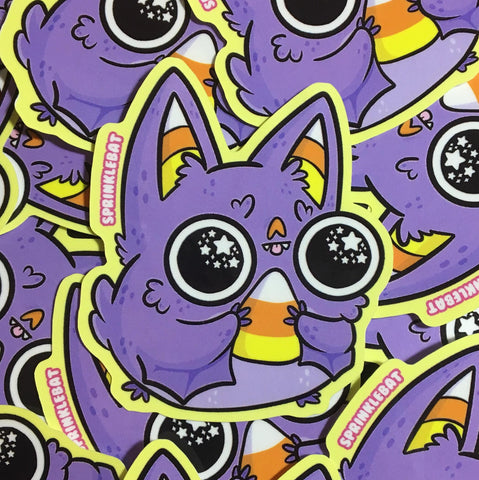 Sugar High Bat Sticker