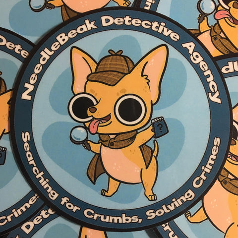 NeedleBeak Detective Agency Sticker