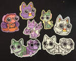 Spooky Friends Sticker Packs !