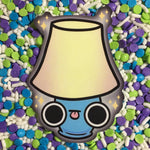 Moth and Lamp Stickers