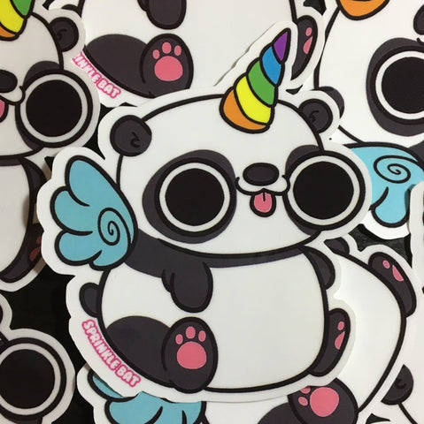 Pandicorn Sticker