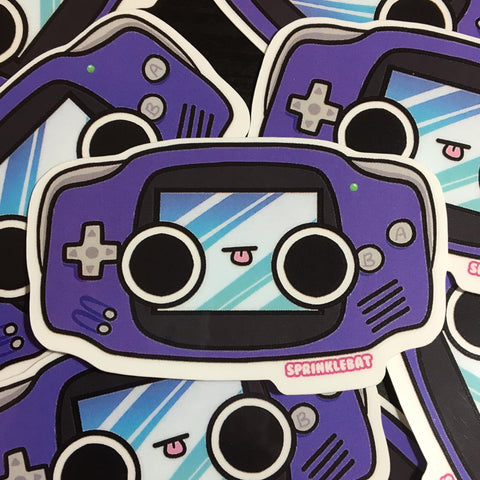 Gameboy Advance Sticker