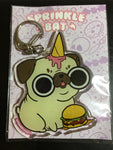 Pug Ice Cream Keychain