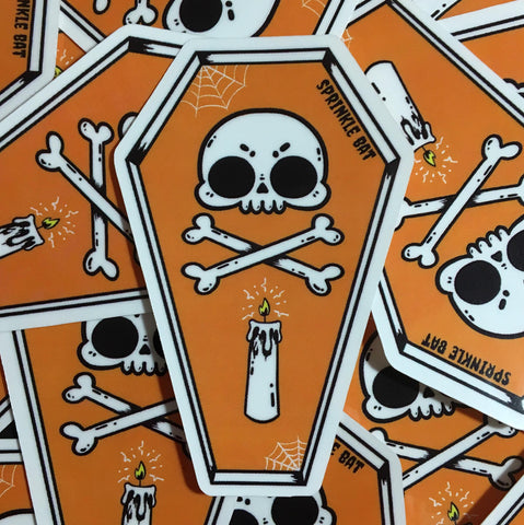 Coffin Sticker
