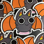 Candy Corn Bat Sticker