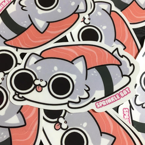Sushi Cat Sticker