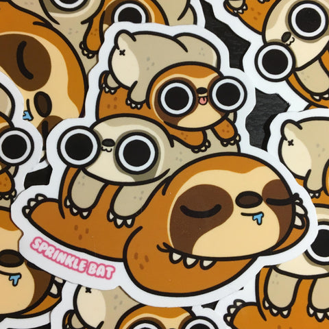 Sloth Stack Sticker