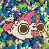 Unicorn enamel pin