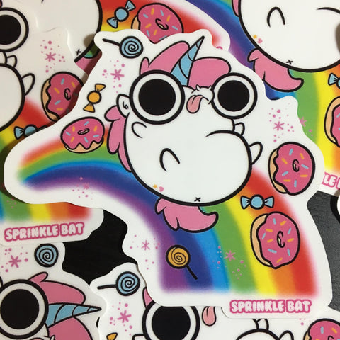 Unicorn Rainbow Sticker