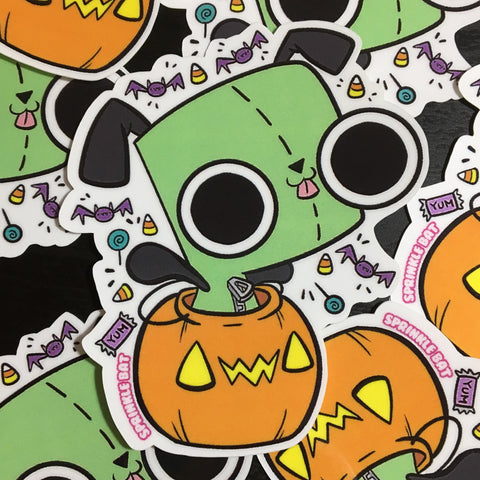 Spooky Gir Sticker
