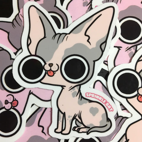 Sphinx Kitty Sticker
