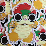 Bowser Stickers