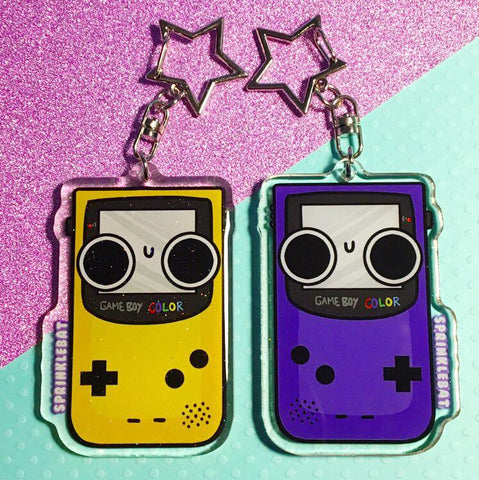 Gameboy Color Keychain